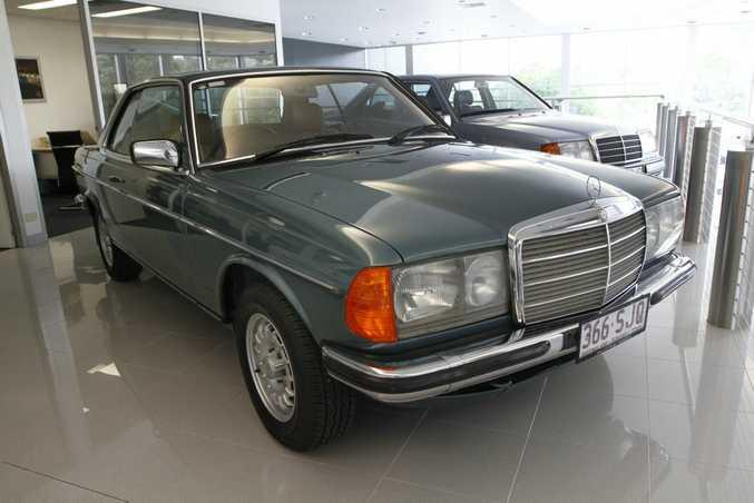 Mercedes-Benz Sunshine Coast's 1983 Mercedes-Benz 280 CE.