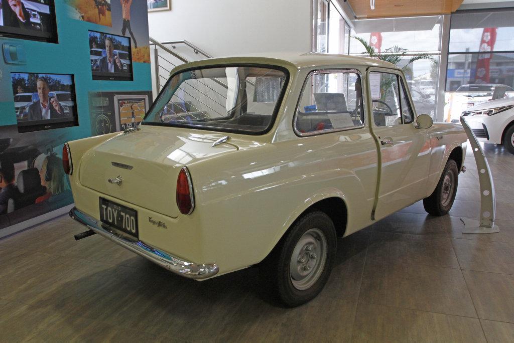 Sunshine Toyota Currimundi's 1963 Toyota 700.