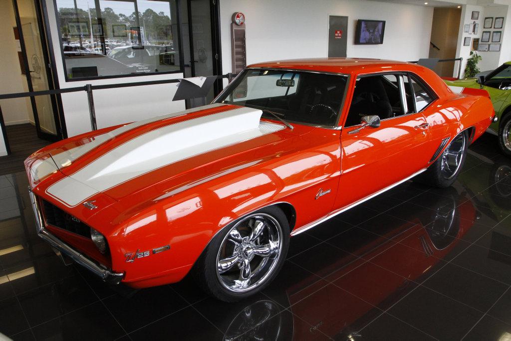 Sunco Holden Maroochydore's 1969 Chevrolet Camaro Coupe.