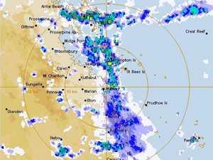 15 ROADS CLOSED: Rain dropping bucketloads on Mackay