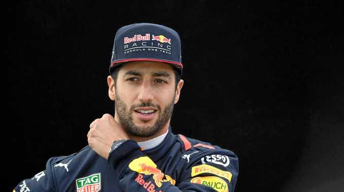 Australian Formula 1 driver Daniel Ricciardo.