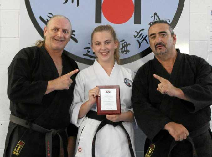 Belinda Miller has done the Kaigan Kai Karate dojo proud.