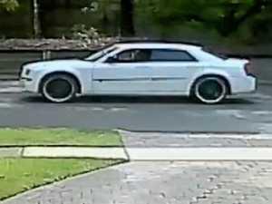 Police seek information on white Chrysler