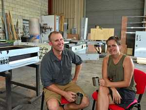 BETTER BALANCE: Broc and Stacey Cattley are cutting trialling a four-day work-week at their Beerwah business.