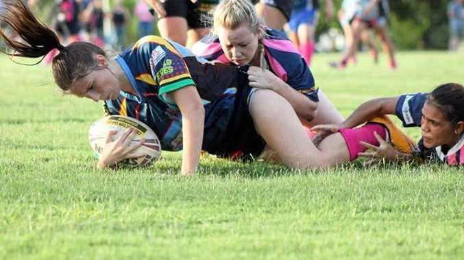 ON DISPLAY: The Highlands Hit Out will showcase women's rugby league in the region.