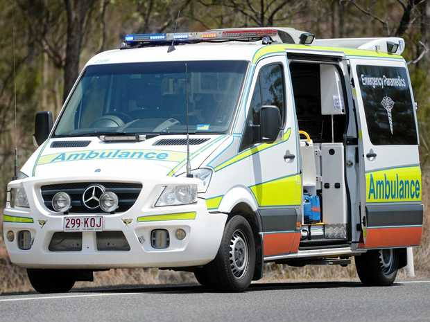 Queensland Ambulance Service are responding to an accident on the Capricorn Coast. Photo Brenda Strong / The Observer