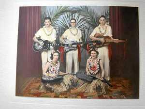 Rare guitar a memory of mum's Hawaiian passion