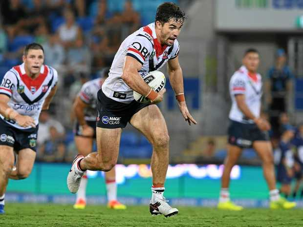 Roosters player Aidan Guerra during the round one match against the Titans.