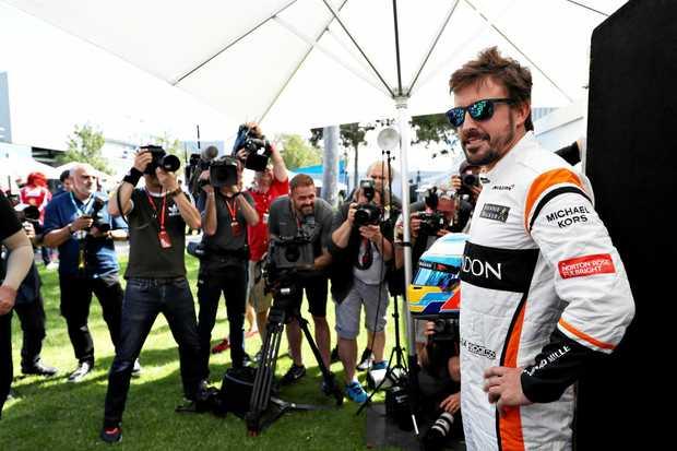 McLaren Honda driver Fernando Alonso survived a horrifying crash at last year's Australian Grand Prix.
