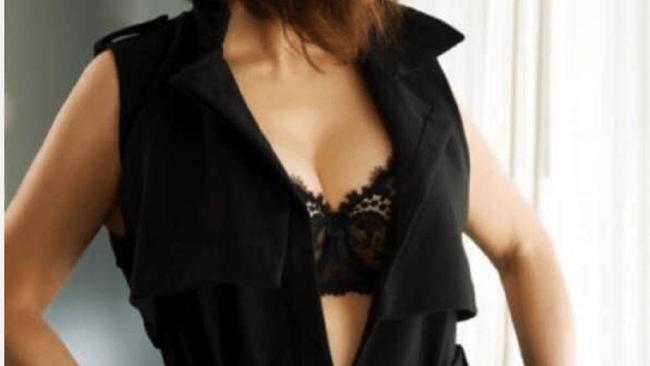 Sex worker Mrs Robinson, as she is seen on the app Rendevu