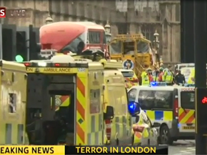 UK terror attack: London lock down as four confirmed dead