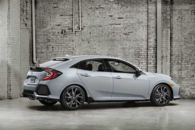 2017 Honda Civic Hatchback. Photo: Contributed