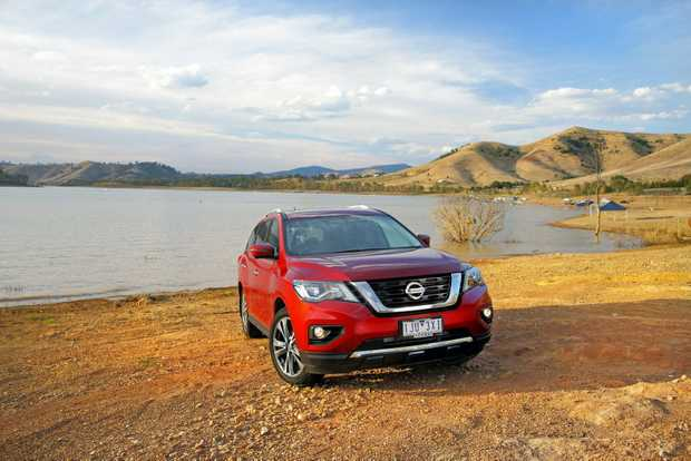 The 2017 Nissan Pathfinder comes with improved technology features, as well as a revised V6 petrol engine.