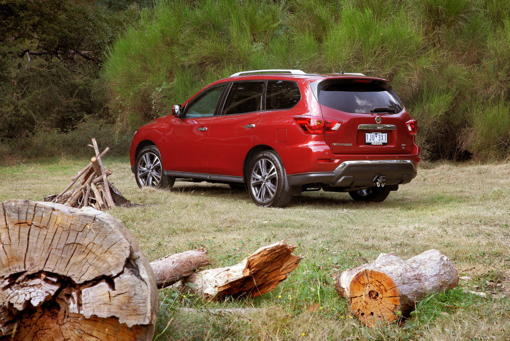 FAMILY MOVER: Improved technology and more refined V6 engine comes standard for the updated seven-seat Nissan Pathfinder.
