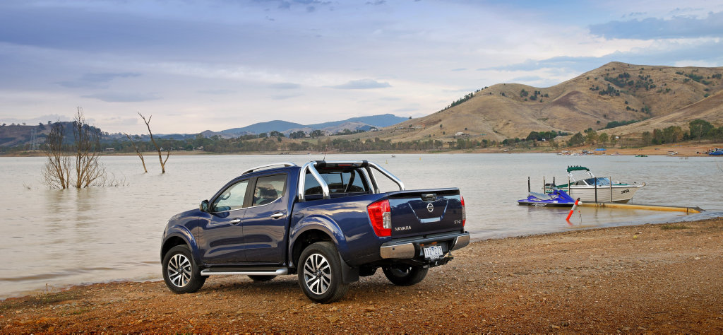 The Series II Nissan Navara has arrived with changes to the five-link rear suspension models which are designed for improved towing.
