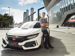 Honda Civic Type R touches down in Melbourne