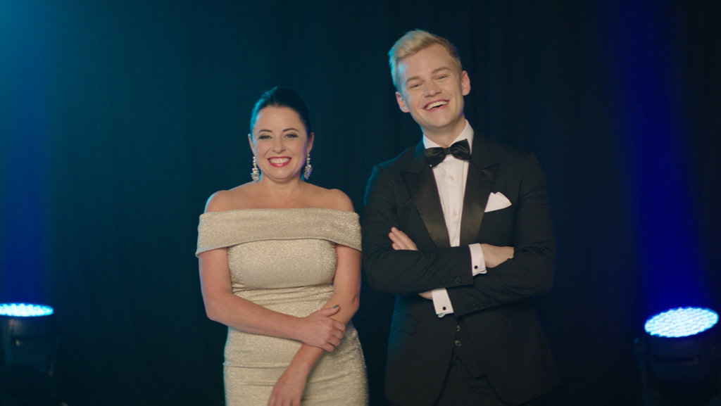 Myf Warhurst and Joel Creasey are SBS's new Eurovision hosts.