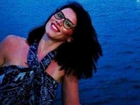 Andreea Cristea, 29, plummeted into the River Thames.