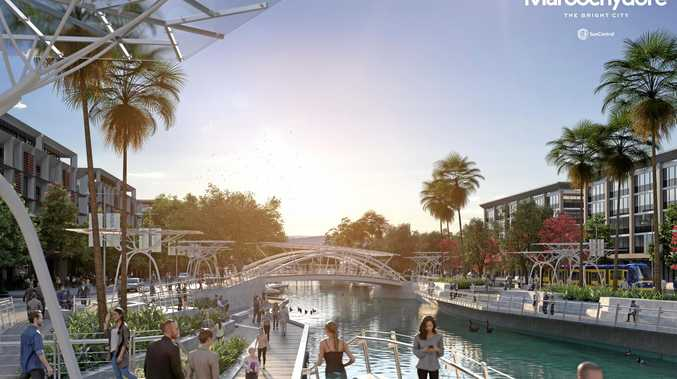 Proposed Maroochydore CBD.