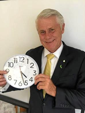 Tweed MP Geoff Provest wants to reduce Daylight Savings. by one month.