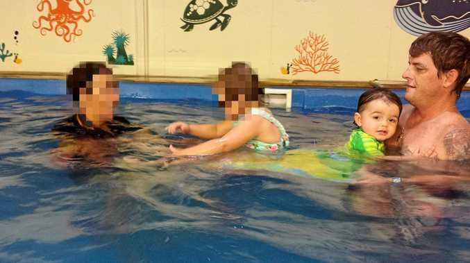 HELP AROUND THE HOUSE: Matthew James Ireland (far right) taking young Hemi Burke to swimming lessons.