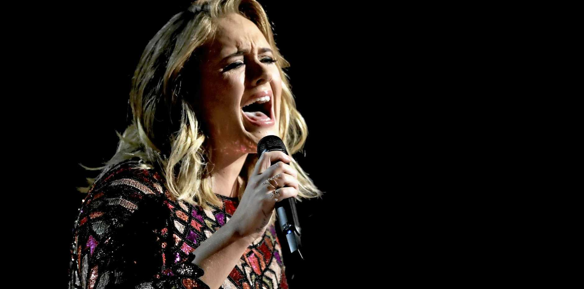 After a mammoth world tour, Adele hints she may never hit the road again.
