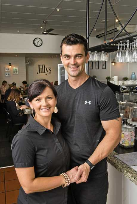 Lisa and Mark Bentley, new owners of Jilly's Cafe.  Friday Mar 24, 2017.