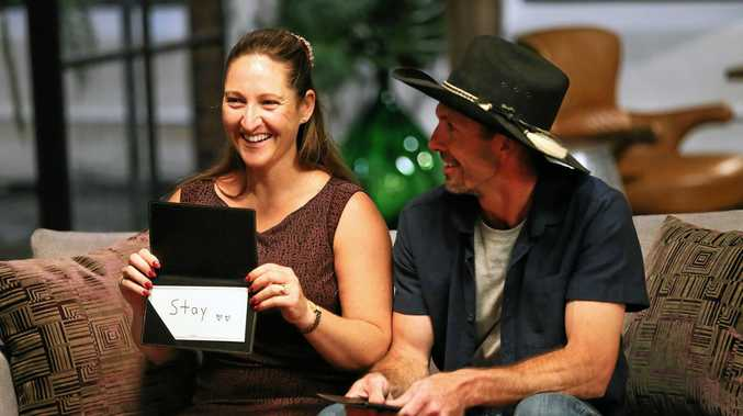 WAITING: Maryborough farmer and reality star Sean Hollands will find out on the Married At First Sight finale on Sunday whether his co-star and partner Susan will stay with him.