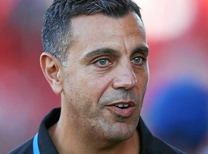 Brisbane Roar assistant coach Ross Aloisi.