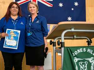 Gympie after-school care worker awarded for dedication and passion