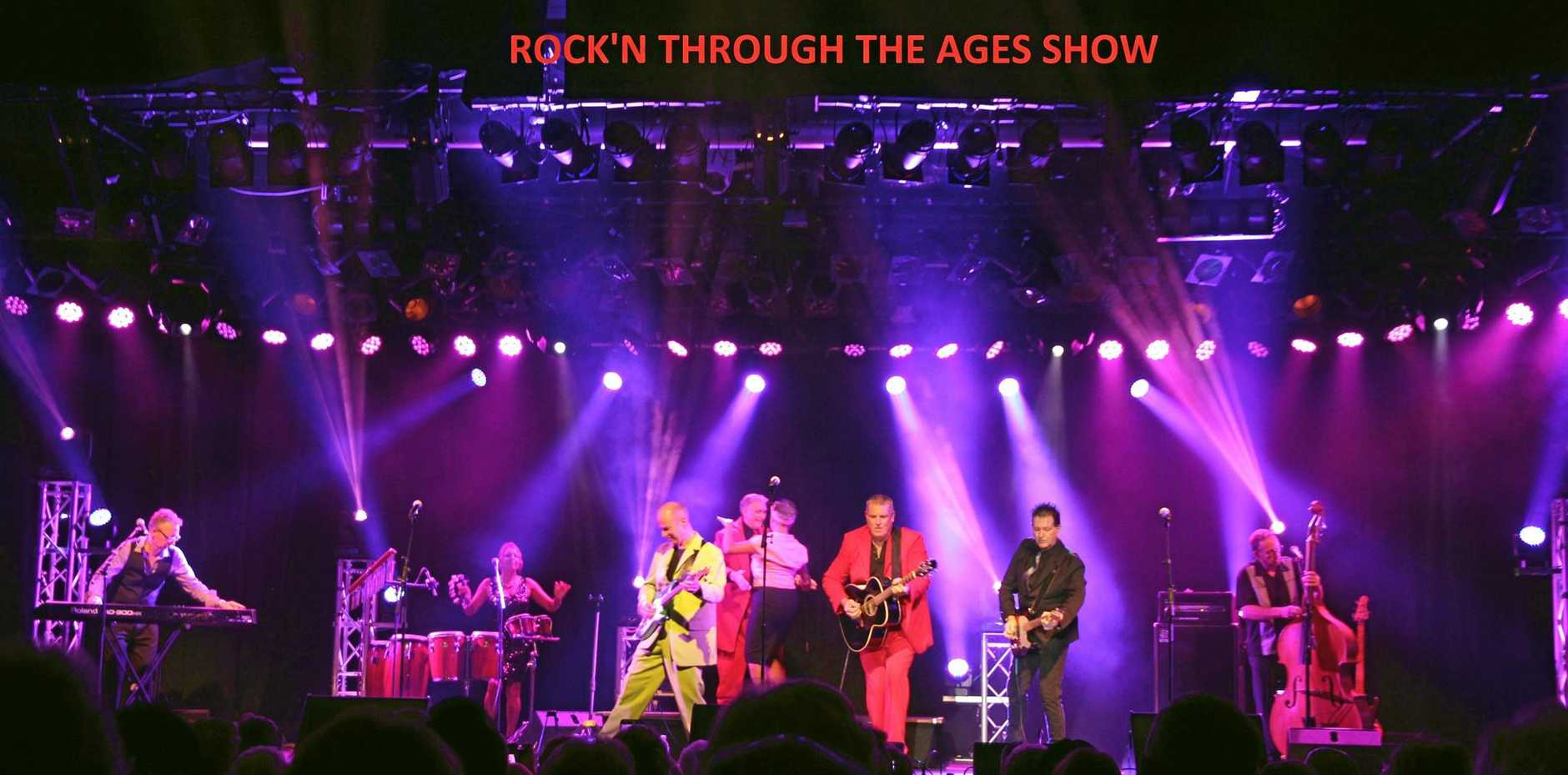 Rock'n Through The Ages is coming to Ballina on Easter Saturday.