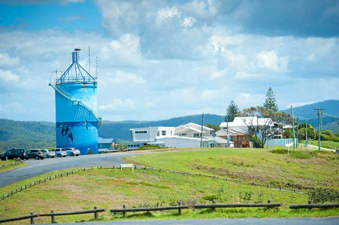Woolgoolga water towerPhoto: Trevor Veale/The Coffs Coast Advocate.