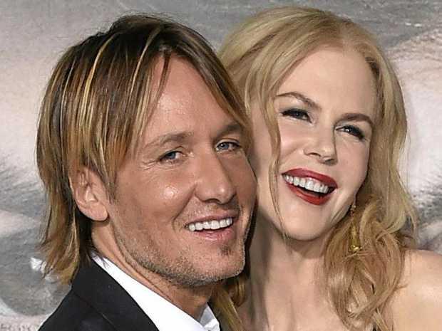 Keith Urban and Nicole Kidman.