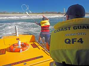 Caloundra Coast Guard battles unpredictable bar every day
