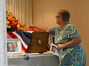 Friends and family gather to farewell Nobby