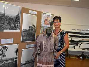 NOSTALGIC NOTE: Warwick Show steward Janet Platz narrowed down 76 historic photos from hundreds for the popular memorabilia display.
