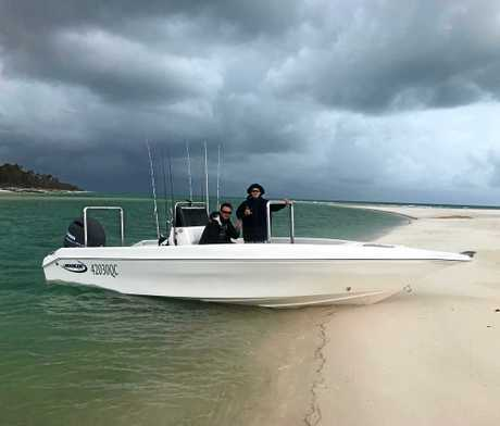 WET WEATHER: Storms and rain have done little to deter people heading out on the water around Hervey Bay in search of that big catch.