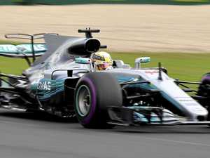 Hamilton shows rivals why he is favourite