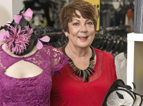Bramptons owner Marjorie Hall announces the closure of the women's fashion stores, Friday, March 24, 2017.