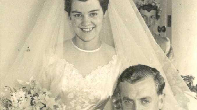 Dick van Tricht and Margaret Geisler were married in 1957.