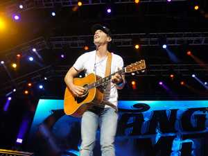 Star's intimate show gets CMC festival off to flying start