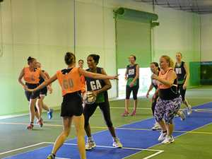Indoor netball on March 24