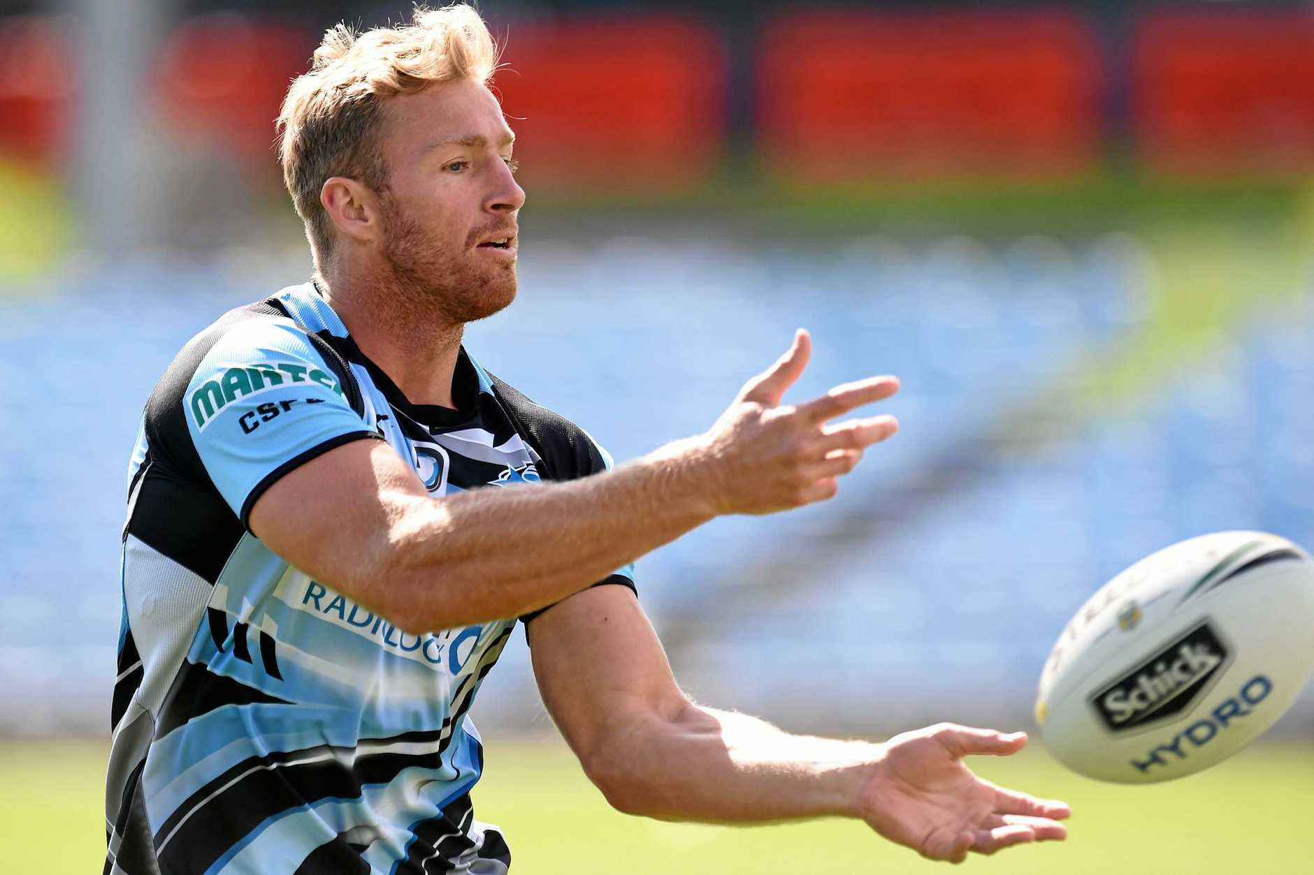 Matt Prior during a Sharks training session at Southern Cross Group Stadium.