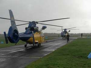 Chopper rescue crews ready for cyclone action