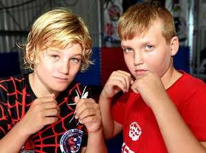 Junior grappler Plank wins gold in wrestling series