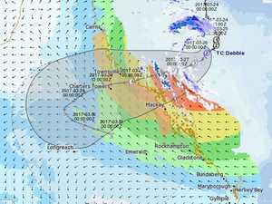 BOM reveal exact course of Cyclone Debbie