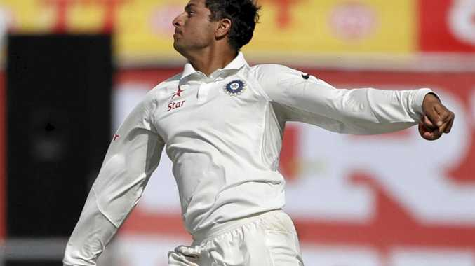 FINE DEBUT: India's Kuldeep Yadav thanked Shane Warne for coaching tips.
