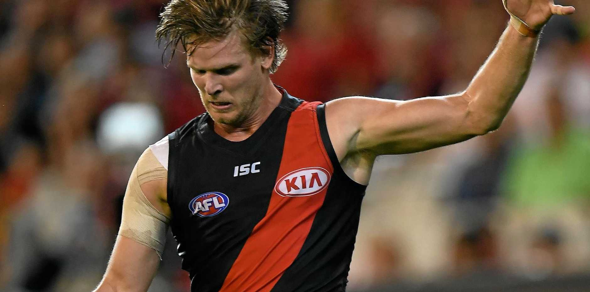 DRAMA OVER: Essendon's Michael Hurley says the Bombers' supplements saga is finally over.