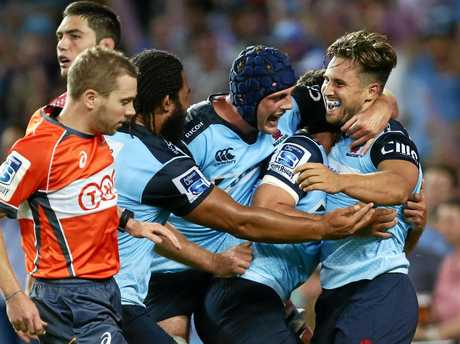 The Waratahs emerged as the only Australian winner over the weekend.