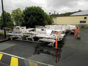 Outrage over disposal of Lismore Base Hospital beds